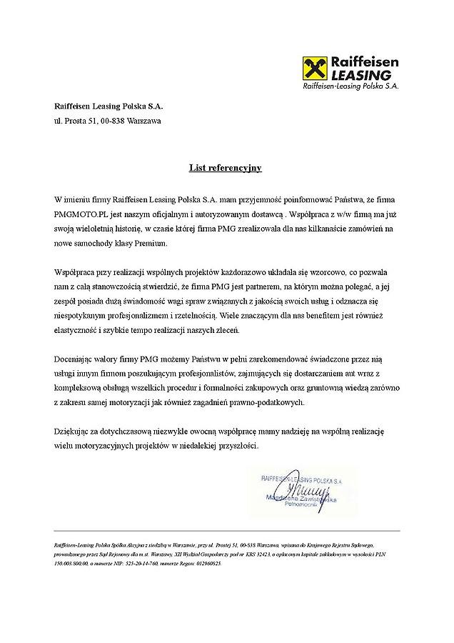 Raiffeisen Leasing Polska S.A.