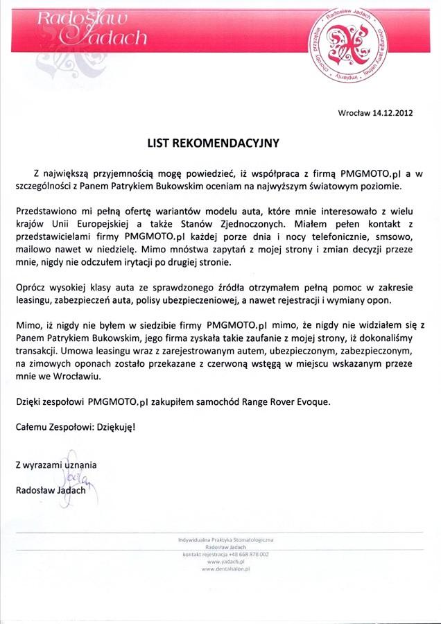 Stomatologia Radosław Jadach